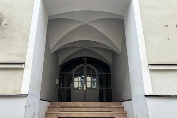 Das H. Treffner-Gymnasium, das sogenannte Prinzessinhaus