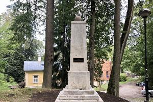 Das Denkmal für Johann Karl Simon Morgenstern