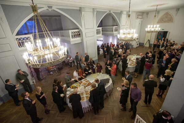 Белый зал Музея Тартуского университета