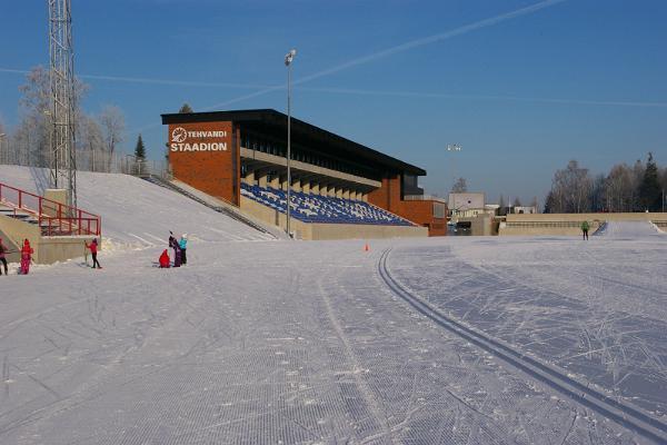 Tehvandi slēpošanas treniņu trase