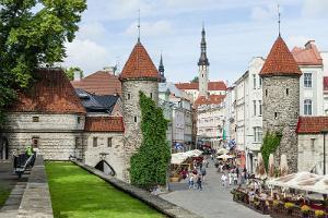 Stadstur i Tallinn för rörelsehindrade personer