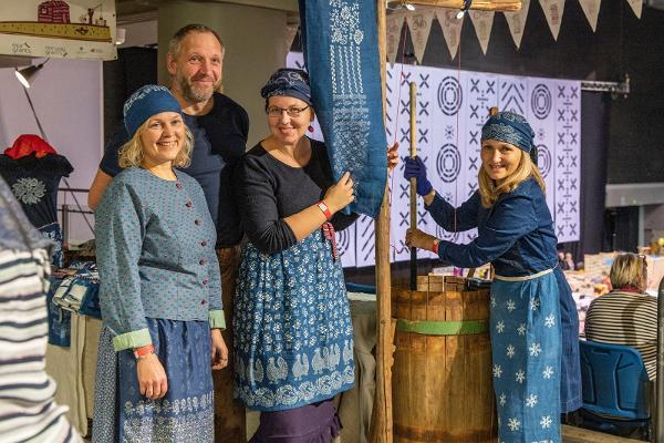 Jahrmarkt zum Martinstag in Tallinn