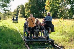 """Pārgājienu taka """"Zaļais dzelzceļš"""" Valga/Valka-Ape"""