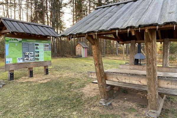 Hiking trail Green Railways Valga/Valka–Ape