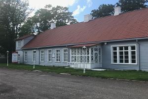 Das Lange Haus des Museums von Hiiumaa