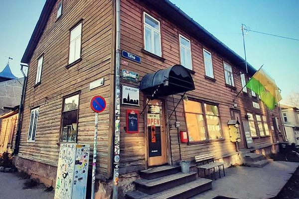 Bar Barlova von außen