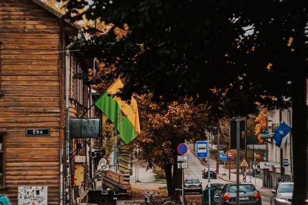 Bar Barlova und die Tähe-Straße