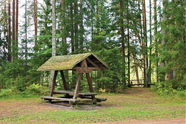 Kaljupealse campfire site