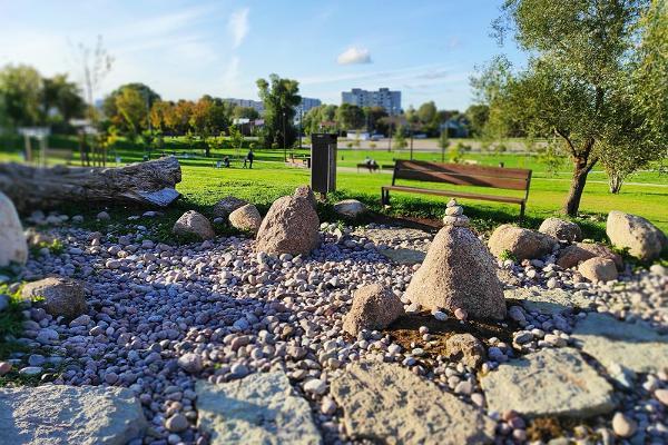 Narva EV 100 julkinen puisto