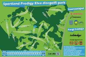 Sportland Prodigy Elva Discgolf Park