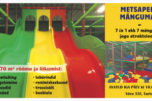 Metsapere Mängumaa (Metsaperen puuhamaa) - 1270 m² riemua ja liikuntaa!