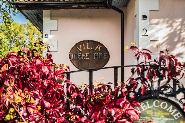 Villa Meretare maja väljast