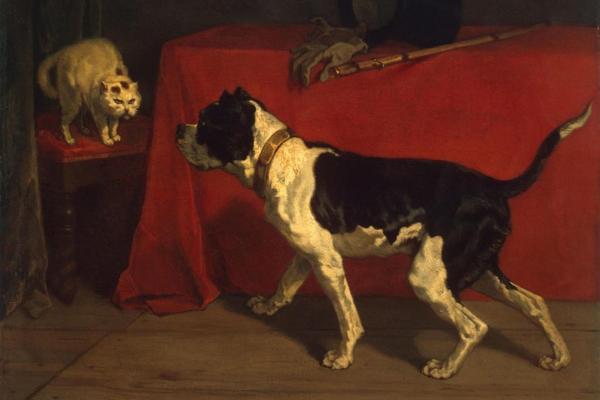 Alati meie kõrval. Kassid ja koerad 16.–19. sajandi kunstis