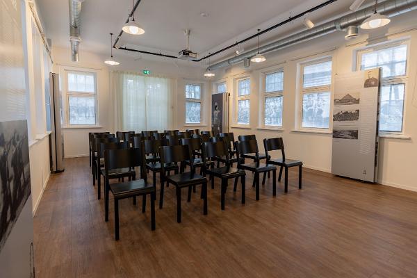 Besuchszentrum Värska – das Reek-Haus, Kino, Ausstellung, Seminarraum