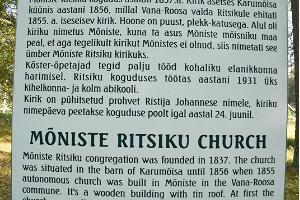 Ritsiku church in Mõniste