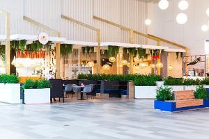 Места питания в торговом центре Pargi Keskus