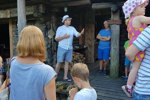 Excursion in Mooska Farm introducing the spiritual heritage of the smoke sauna of Vana-Võrumaa