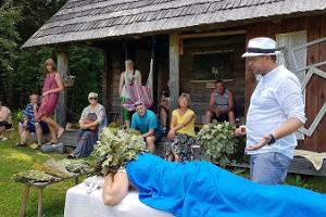 Экскурсия по хутору Мооска, знакомящая с духовным наследием бани по-черному Вана-Вырумаа