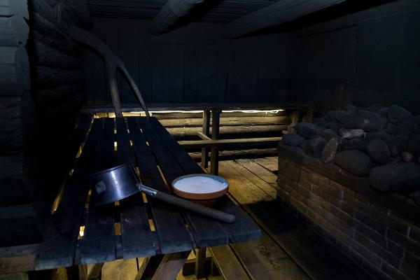 Besuch der traditionellen Rauchsauna von Vana-Võromaa auf dem Bauernhof Mooska