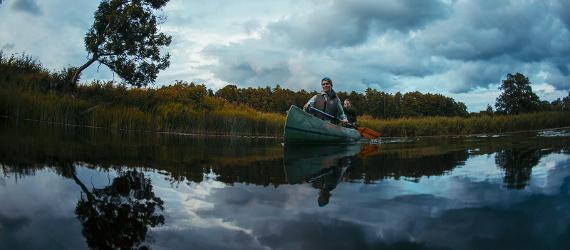 Põlislooduse nädal, kanuumatk, Visit Estonia, Puhka Eestis