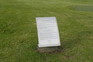 Отметка медианной дуги Струве на горе Арукюла в Каарепере