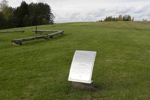 Struve Geodetic Arc in Kaarepere on Aruküla hill
