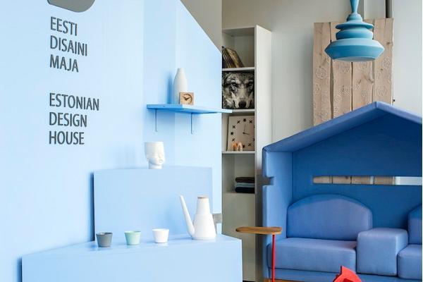 Showroom till Eesti Disaini Maja (Huset för estnisk design) i Solaris centrum