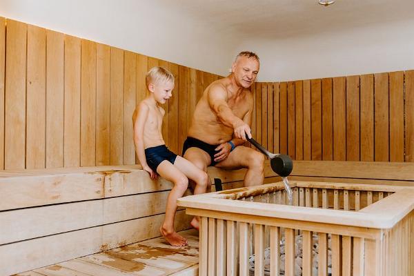 Suure - Jaani Tervisekoja Veekeskus soome saun