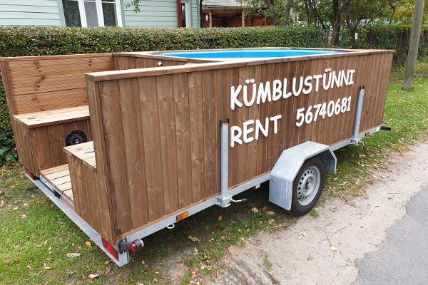 Hot tub rental in Haapsalu and Lääne County