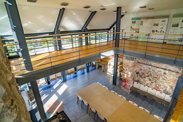 Seminar and conference rooms of Emajõgi-Suursoo Nature Centre