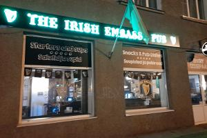 "Puben ""The Irish Embassy Pub"" i Narva"