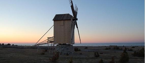 Eine Nacht in der Windmühle