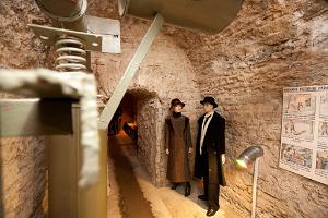 Bastion Underground Passages & Tallinn Lower Old Town Private Tour