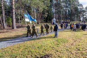 Viron tasavallan 102-vuotispäivän vietto