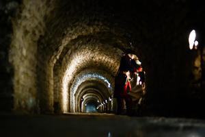 Семейное приключение в казематах нарвского бастиона «Виктория» в рамках программы «Город Нарва: на земле и под землей!»