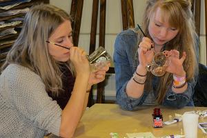 Klaasimaali õpituba Räpina loomemajas