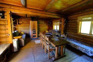 Sauna-Cottage Ella and barrel sauna