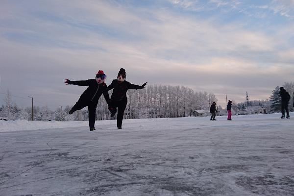 Maulwurfland-Weihnachten im Dorf Kukersiit