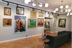 Allee galerii kunstioksjoni näitus