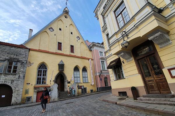 Hispaaniakeelne ekskursioon Tallinna vanalinnas
