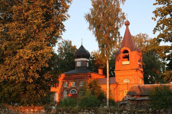 Värska orthodox church in Setomaa