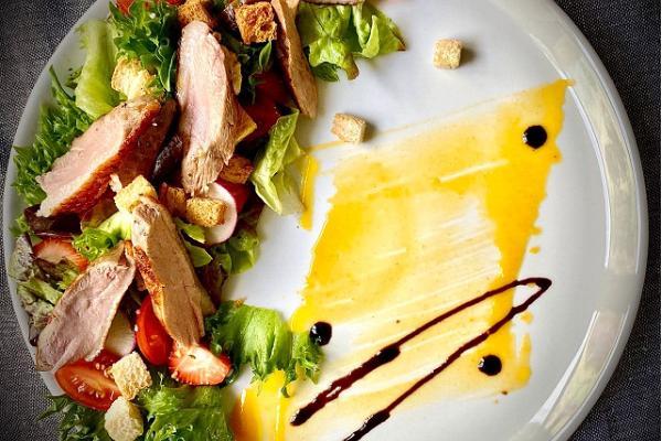 Pardirinna filee salat