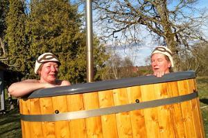Kümblustalu sauna, massaažide ja tünnidega