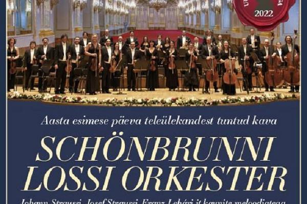 Großes Wiener Neujahrskonzert des Schloss Schönbrunn Orchesters in Tartu
