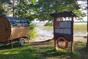 Haagisel sauna ja kümblustünni rent Läänemaal