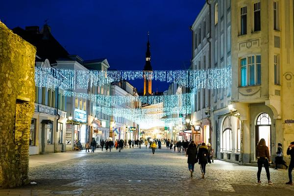 Pubturen i Tallinns gamla stad
