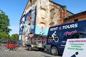 Baltreisens cykeluthyrning i centrala Pärnu