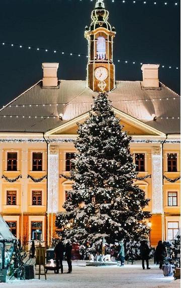 Joulukaupunki Tartto