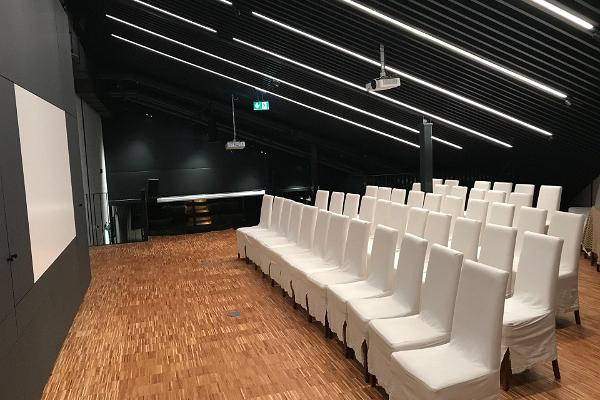 Lodjakodan kompleksin konferenssi- ja seminaaritilat