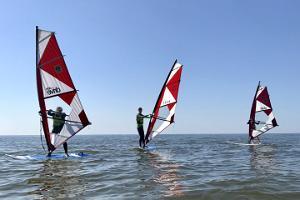 Aloha 1-hour basic course for windsurfing in Pärnu